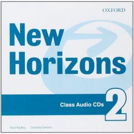 New Horizons 2 Class CDs