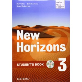 New Horizons 3 Student's Book + CD-ROM