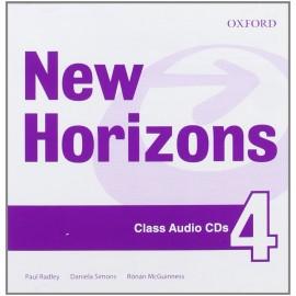 New Horizons 4 Class CDs
