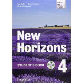 New Horizons 4 Student's Book + CD-ROM