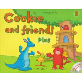 Cookie and Friends Plus B Classbook + Songs and Stories CD