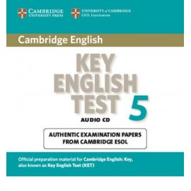Cambridge Key English Test 5 Audio CD