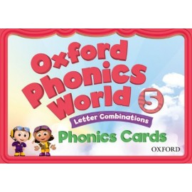 Oxford Phonics World 5 Letter Combinations Phonics Cards