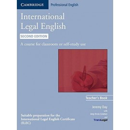 International Legal English Teacher's Book Second Edition