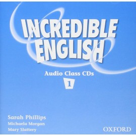 Incredible English 1 Class Audio CDs