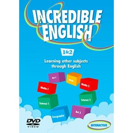 Incredible English 1 and 2 DVD