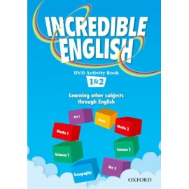 Incredible English 1 and 2 DVD Activity Book
