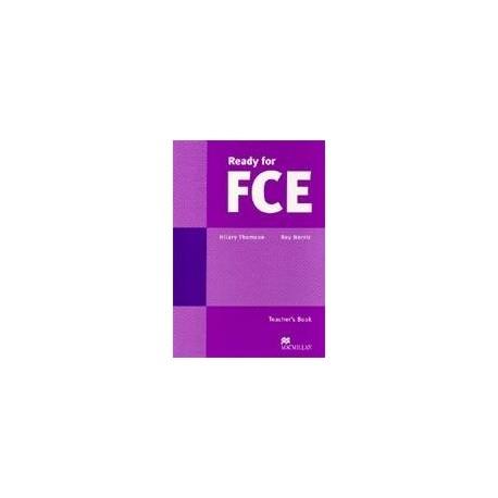 Ready for FCE Teacher's Book Macmillan 9780333976357
