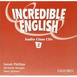 Incredible English 2 Class Audio CDs
