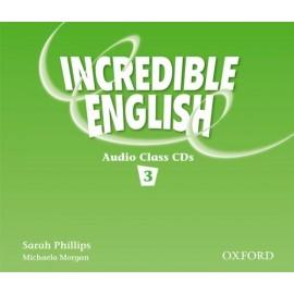 Incredible English 3 Class Audio CDs