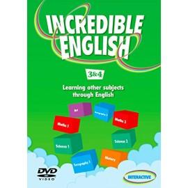 Incredible English 3 and 4 DVD