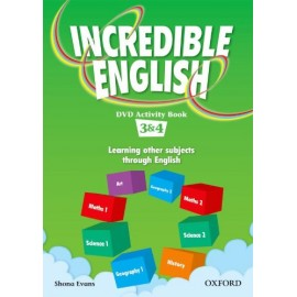 Incredible English 3 and 4 DVD Activity Book