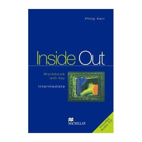 Inside Out Intermediate Workbook with Key + Audio CD Macmillan 9781405029117