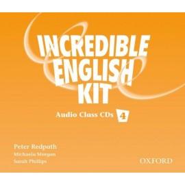 Incredible English 4 Class Audio CDs