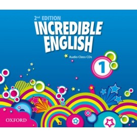 Incredible English Second Edition 1 Class Audio CDs