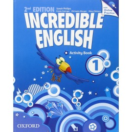 Incredible English Second Edition 1 Activity Book with Online Practice