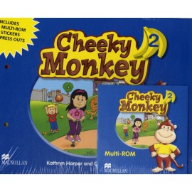 Cheeky Monkey 2 Pupil's Book + MultiROM