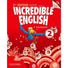 Incredible English Second Edition 2 Activity Book with Online Practice