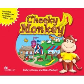 Cheeky Monkey 1 Pupil's Book + MultiROM