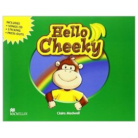 Hello Cheeky Pupil's Book + Songs CD