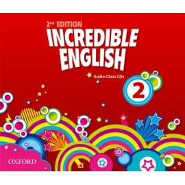 Incredible English Second Edition 2 Class Audio CDs