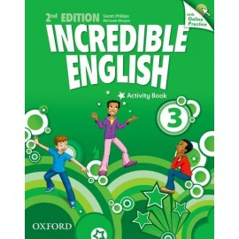 Incredible English Second Edition 3 Activity Book with Online Practice