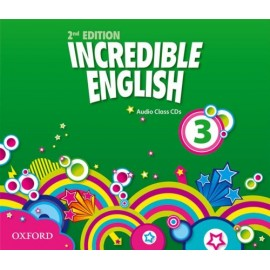 Incredible English Second Edition 3 Class Audio CDs