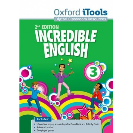 Incredible English Second Edition 3 iTools DVD-ROM Oxford University Press 9780194442541
