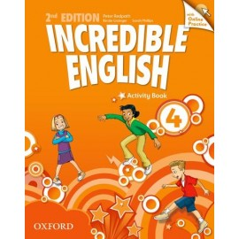 Incredible English Second Edition 4 Activity Book with Online Practice