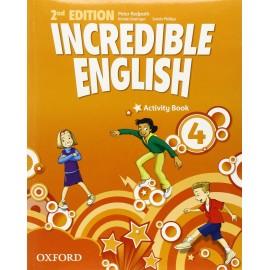 Incredible English Second Edition 4 Activity Book