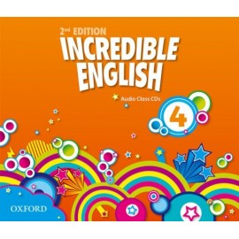 Incredible English Second Edition 4 Class Audio CDs