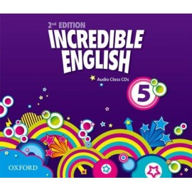 Incredible English Second Edition 5 Class Audio CDs