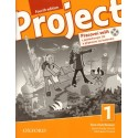 Project 1 Fourth Edition Workbook with Online Practice + Audio CD Czech Edition