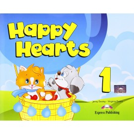 Happy Hearts 1 Pupil's Book + Stickers and Press Outs + MultiROM