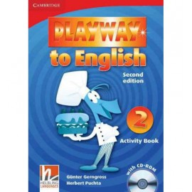 Playway to English 2 Second Edition Activity Book + CD-ROM
