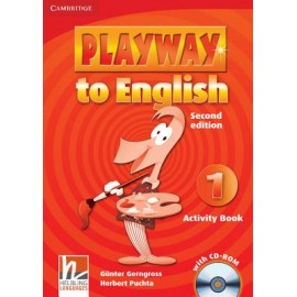 Playway to English 1 Second Edition Activity Book + CD-ROM
