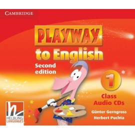 Playway to English 1 Second Edition Class CDs