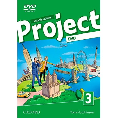 Project 3 Fourth Edition DVD Oxford University Press 9780194765756