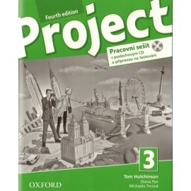 Project 3 Fourth Edition Workbook with Online Practice + Audio CD Czech Edition