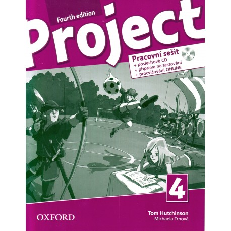 Project 4 Fourth Edition Workbook with Online Practice + Audio CD Czech Edition