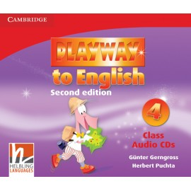 Playway to English 4 Second Edition Class CDs