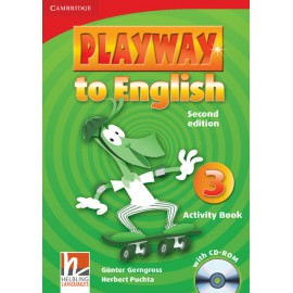 Playway to English 3 Second Edition Activity Book with CD-ROM