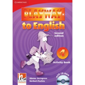 Playway to English 4 Second Edition Activity Book + CD-ROM