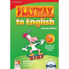 Playway to English 3 Second Edition Teacher's Resource Pack + Audio CD