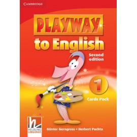 Playway to English 1 Second Edition Cards Pack