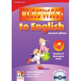 Playway to English 4 Second Edition Teacher's Resource Pack + Audio CD