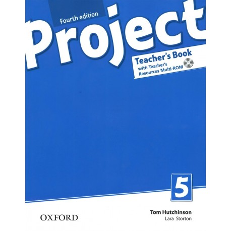 Project 5 Fourth Edition Teacher's Book + Teacher's Resource MultiROM with Online Practice Oxford University Press 9780194704090