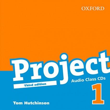 Project 1 Third Edition Class CDs Oxford University Press 9780194763042