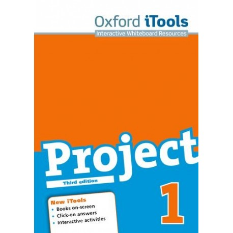 Project 1 Third Edition New iTools DVD-ROM Oxford University Press 9780194764506