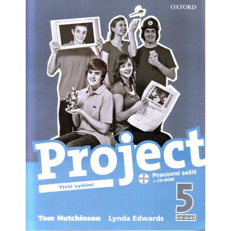 Project 5 Third Edition Workbook + CD-ROM CZ Oxford University Press 9780194763622